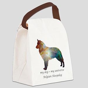 BELGIAN SHEEPDOG Canvas Lunch Bag