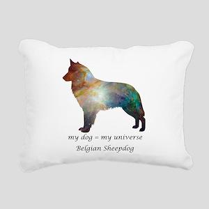 BELGIAN SHEEPDOG Rectangular Canvas Pillow