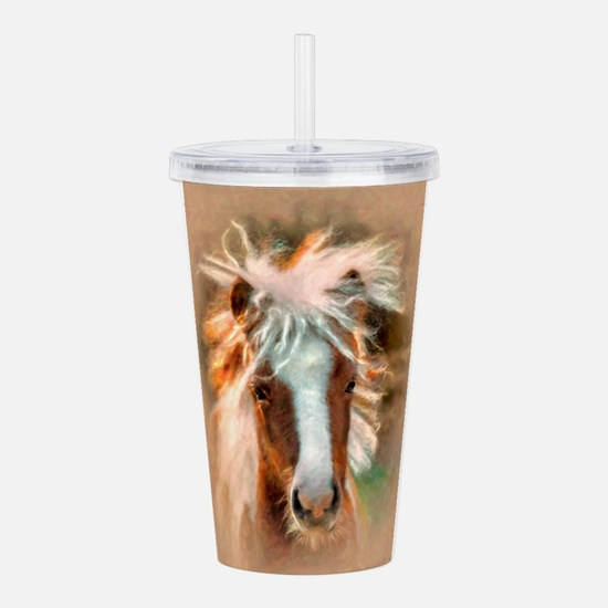bad hair day Acrylic Double-wall Tumbler