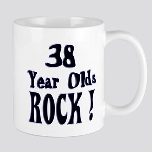 38 Year Olds Rock ! Mug