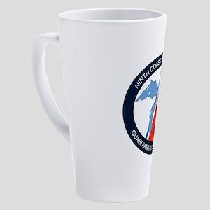 Ninth District logo 17 oz Latte Mug