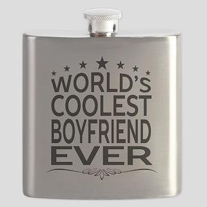 WORLD'S COOLEST BOYFRIEND EVER Flask