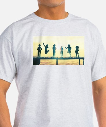 Happy Children Playing T-Shirt