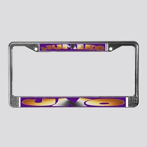 BEAR - Numero Uno License Plate Frame