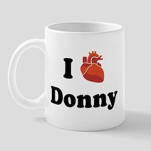 I (Heart) Donny Mug