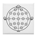 10_20 Brain Tile Coaster