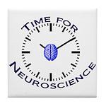 Neuroscience Time Tile Coaster