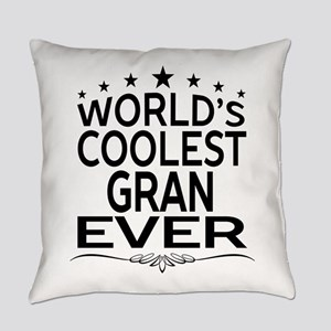 WORLD'S COOLEST GRAN EVER Everyday Pillow