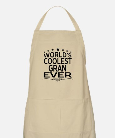 WORLD'S COOLEST GRAN EVER Apron