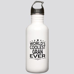 WORLD'S COOLEST GRAN EVER Sports Water Bottle