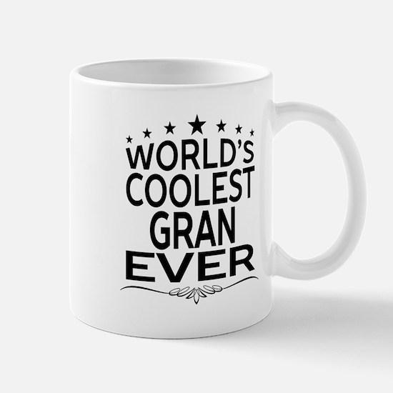 WORLD'S COOLEST GRAN EVER Mugs