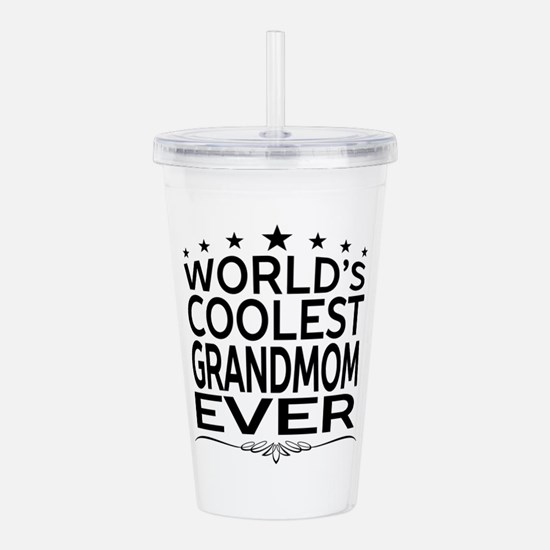 WORLD'S COOLEST GRANDMOM EVER Acrylic Double-wall