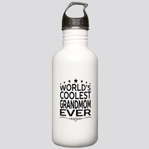 WORLD'S COOLEST GRANDMOM EVER Sports Water Bottle