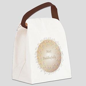 Most Buddhafully 2a Canvas Lunch Bag
