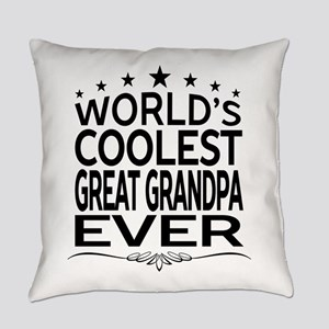 WORLD'S COOLEST GREAT GRANDPA EVER Everyday Pillow