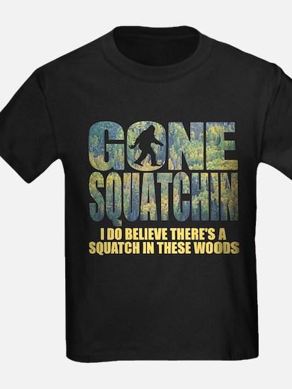 Unique Gone squatchin T