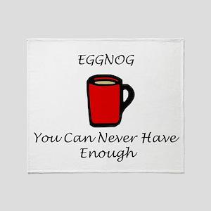 Eggnog Throw Blanket