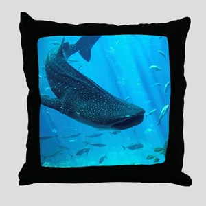 WHALE SHARK 2 Throw Pillow