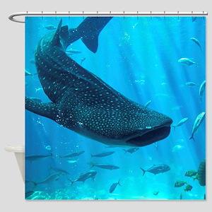 WHALE SHARK 2 Shower Curtain