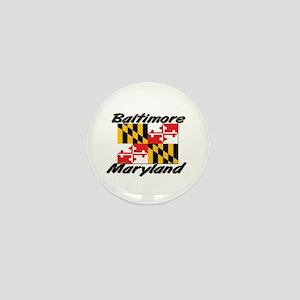 Baltimore Maryland Mini Button