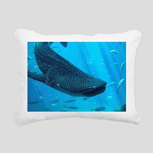 WHALE SHARK 2 Rectangular Canvas Pillow