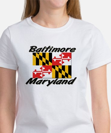 Baltimore Maryland Women's T-Shirt