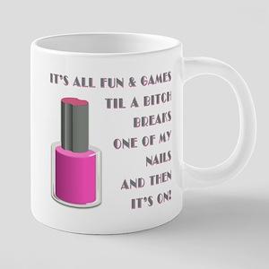 ITS ALL FUN GAMES.... Mugs