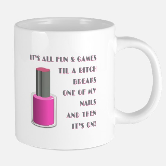 ITS ALL FUN GAMES.... Mugs