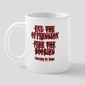 End Oppression Mug
