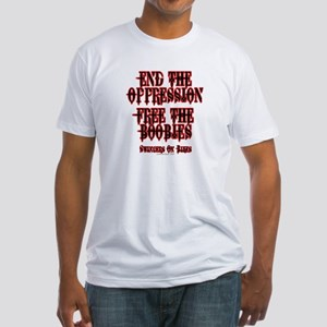 End Oppression Fitted T-Shirt