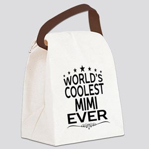 WORLD'S COOLEST MIMI EVER Canvas Lunch Bag