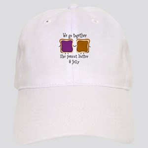 Peanut Butter and Jelly Baseball Cap