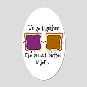 Peanut Butter and Jelly Wall Decal