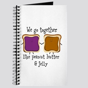 Peanut Butter and Jelly Journal