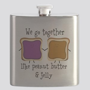 Peanut Butter and Jelly Flask
