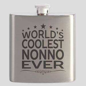 WORLD'S COOLEST NONNO EVER Flask