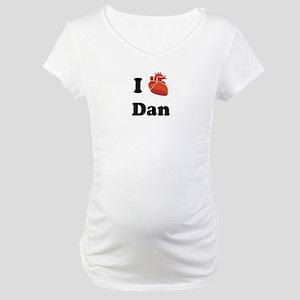 I (Heart) Dan Maternity T-Shirt