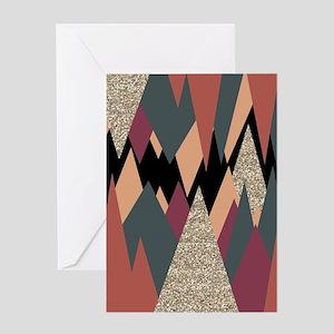 Desert Mountains Greeting Cards