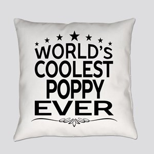WORLD'S COOLEST POPPY EVER Everyday Pillow