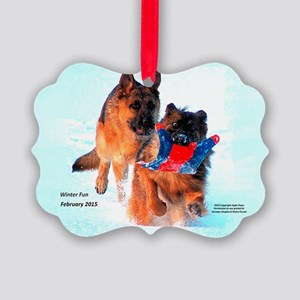 2015 Christmas #2 Picture Ornament