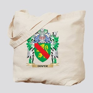 Diaper Coat of Arms (Family Crest) Tote Bag