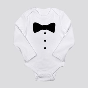Baby Tux Cartoon Body Suit
