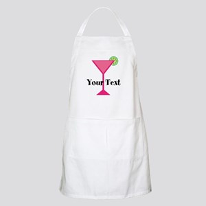 Personalizable Pink Cocktail Apron