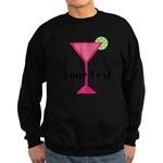 Personalizable Pink Cocktail Sweatshirt