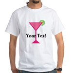 Personalizable Pink Cocktail T-Shirt