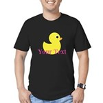Personalizable Pink Yellow Duck T-Shirt