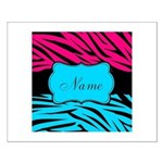 Personalizable Hot Pink and Teal Posters