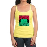 Personalizable Hot Pink and Teal Tank Top