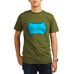 Personalizable Teal Black T-Shirt