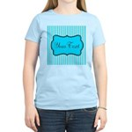 Personalizable Teal and White T-Shirt
